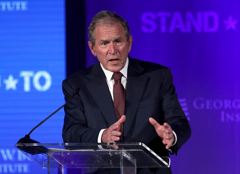 Bush: 'It is time for America to examine our tragic failures'