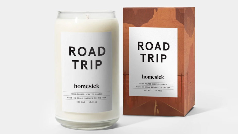 Best gifts under $30: Homesick Road Trip candle