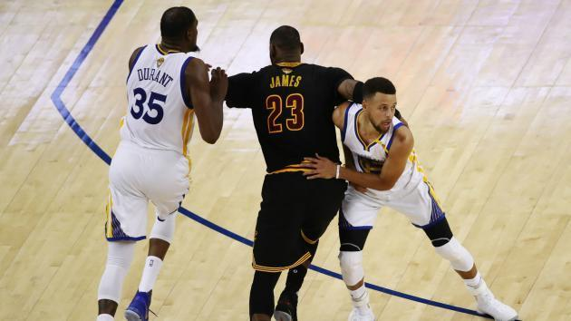 NBA Finals: Cavs failed to find answer for impossible Stephen Curry-Kevin Durant pick-and-roll riddle