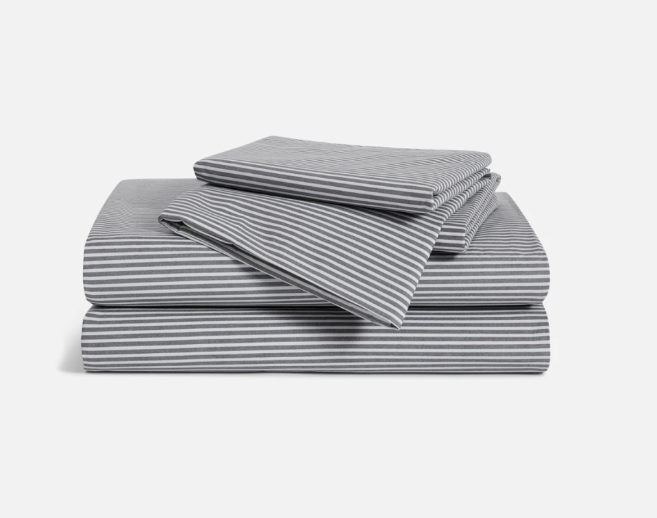 """<p><strong>Brooklinen</strong></p><p>brooklinen.com</p><p><strong>$143.10</strong></p><p><a href=""""https://go.redirectingat.com?id=74968X1596630&url=https%3A%2F%2Fwww.brooklinen.com%2Fproducts%2Fluxe-core-sheet-set&sref=https%3A%2F%2Fwww.goodhousekeeping.com%2Fhome%2Fdecorating-ideas%2Fg35166809%2Fbest-home-products-january-2021%2F"""" rel=""""nofollow noopener"""" target=""""_blank"""" data-ylk=""""slk:Shop Now"""" class=""""link rapid-noclick-resp"""">Shop Now</a></p><p>Don't underestimate the power of good quality sheets. I've had these soft cotton sheets for a few years now. They're comfortable, hold up nicely in the wash, and even received a <a href=""""https://www.goodhousekeeping.com/home-products/best-sheets/a34304520/brooklinen-sheets-review/"""" rel=""""nofollow noopener"""" target=""""_blank"""" data-ylk=""""slk:positive review"""" class=""""link rapid-noclick-resp"""">positive review</a> from the Good Housekeeping Institute. </p>"""