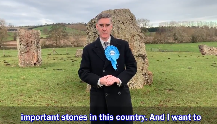 Jacob Rees-Mogg on stones