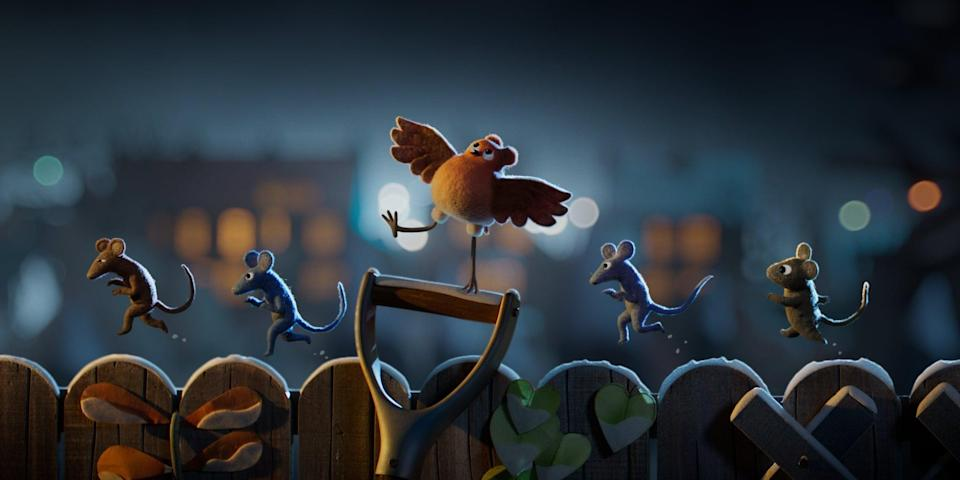 """<p>This stop-motion holiday musical short follows a bird raised by mice who - after she begins to question where exactly she belongs - goes on an epic journey of self-discovery. </p> <p><strong>When it's available: </strong><a href=""""http://www.netflix.com/title/81058433"""" class=""""link rapid-noclick-resp"""" rel=""""nofollow noopener"""" target=""""_blank"""" data-ylk=""""slk:Nov. 24"""">Nov. 24</a></p>"""