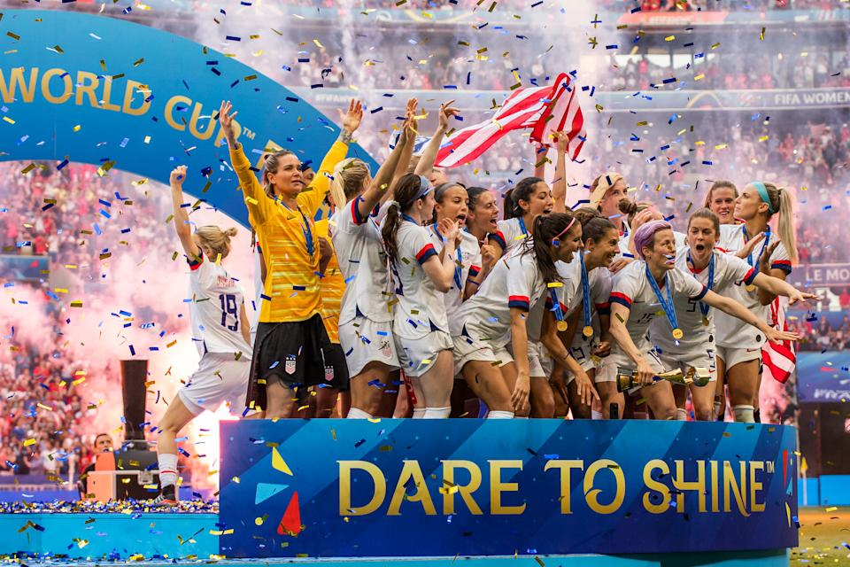 How much prize money FIFA pays for World Cup success, and how that money is doled out by U.S. Soccer, is a major point of contention. (Photo by Mikoaj Barbanell/SOPA Images/LightRocket via Getty Images)