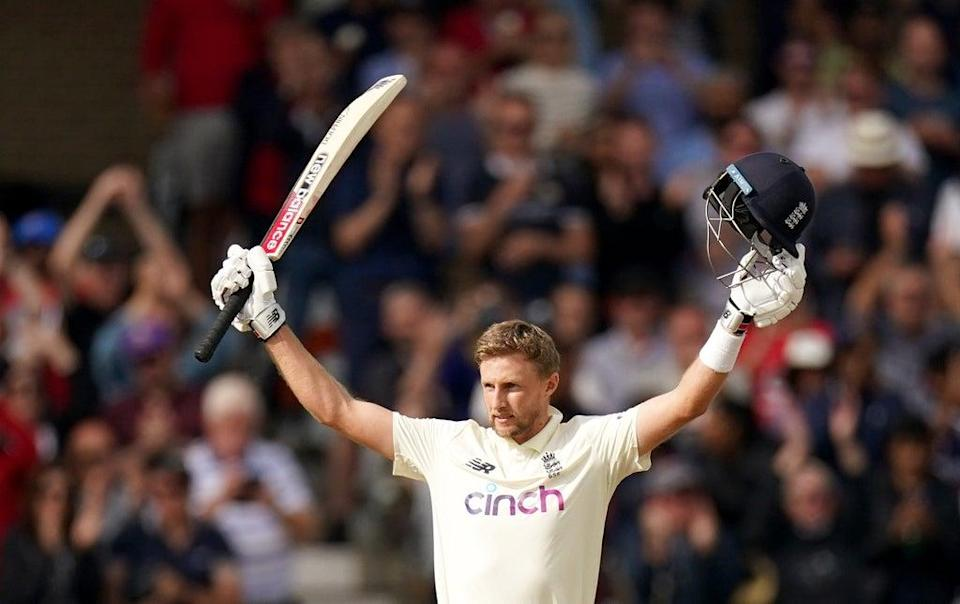 Root scored a century as England drew the first Test at Trent Bridge (Tim Goode/PA) (PA Wire)