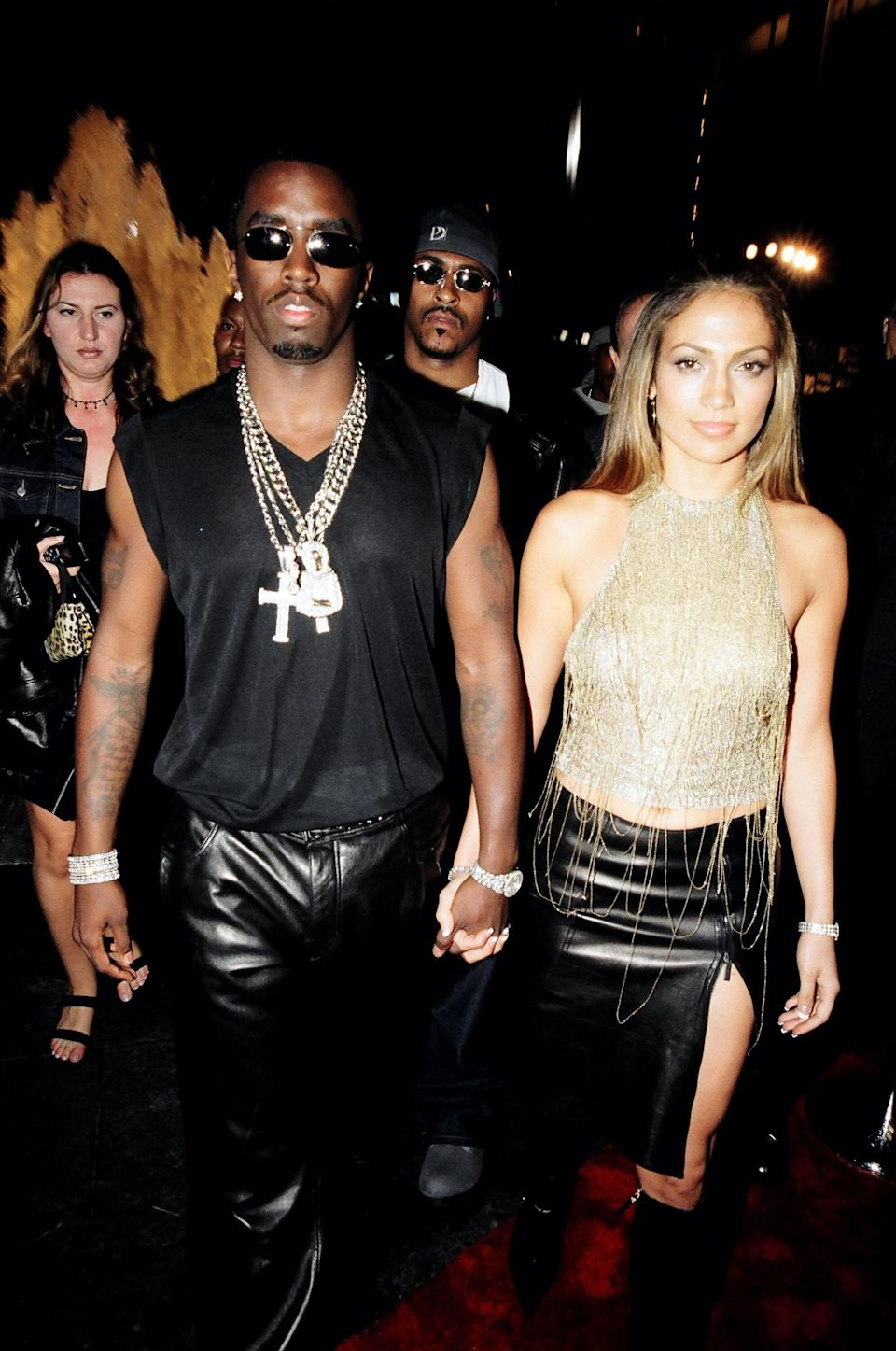 Remember When Jennifer Lopez and P. Diddy Got Arrested Together?