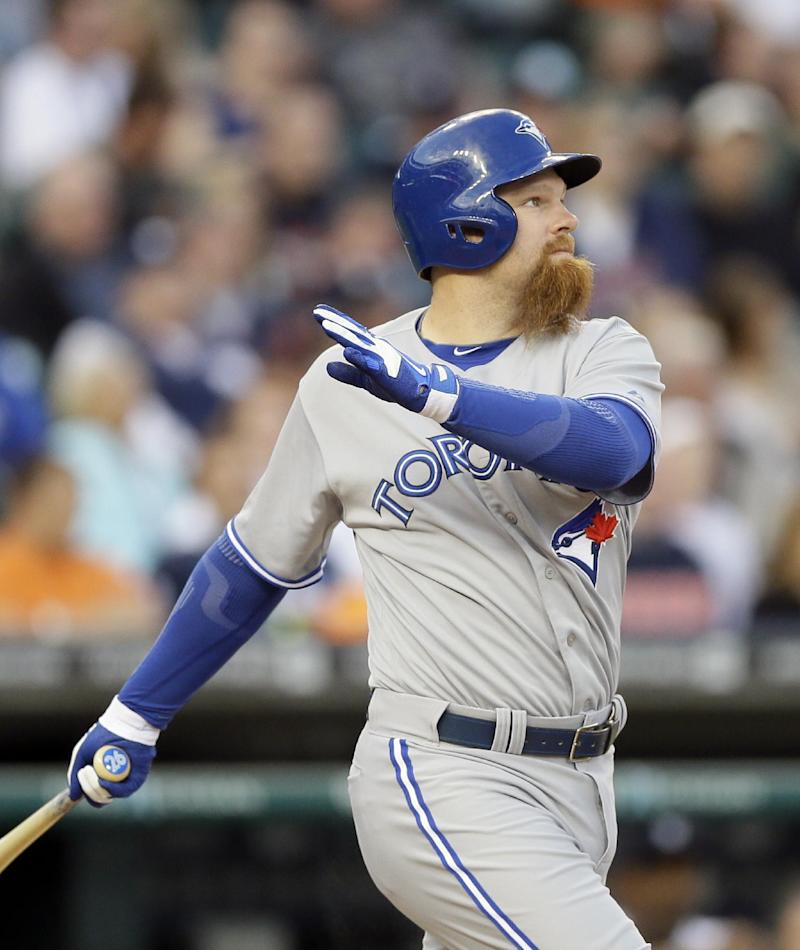 Blue Jays place Lind on DL with broken foot