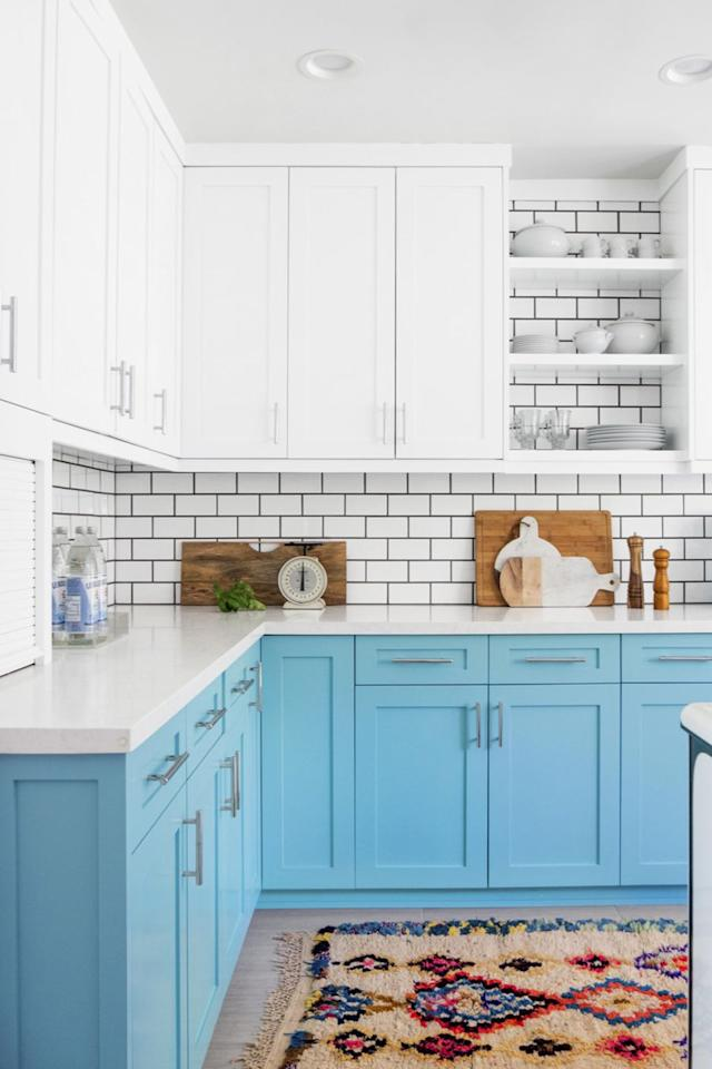 """<p>When it comes to the kitchen, it's what's on the inside that counts. Make the most of your cabinet space - no matter how small - with a quick DIY project. """"Mount a rack on the back of a cabinet or pantry door, or try a roll-out rack in a lower cupboard to amp up cabinet space,"""" recommends organizing expert <a rel=""""nofollow"""" href=""""https://www.alejandra.tv/"""">Alejandra Costello</a><em>.</em></p><p><a rel=""""nofollow"""" href=""""https://www.amazon.com/gp/product/B0743YYZYB/ref=s9_acsd_top_hd_bw_b16bmD_c_x_1_w?"""">SHOP DRAWER ORGANIZERS</a><a rel=""""nofollow"""" href=""""https://www.goodhousekeeping.com/home/organizing/tips/g1397/small-kitchen-storage/""""><em><br><br></em></a><em><a rel=""""nofollow"""" href=""""https://www.goodhousekeeping.com/home/organizing/tips/g1397/small-kitchen-storage/""""></a><a rel=""""nofollow"""" href=""""https://www.goodhousekeeping.com/home/organizing/tips/g1397/small-kitchen-storage/"""">RELATED: 20 Smart Storage Tricks for a Small Kitchen</a></em></p>"""
