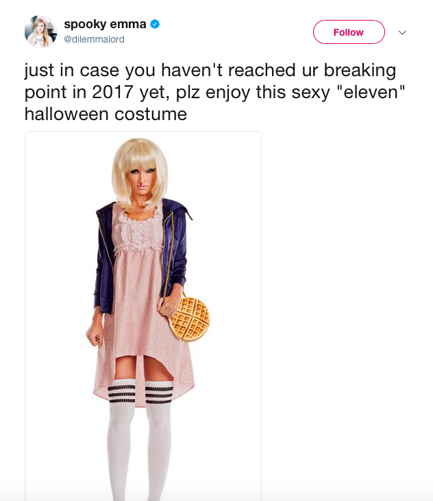 People have taken to social media to complain about the costume [Photo: Twitter]