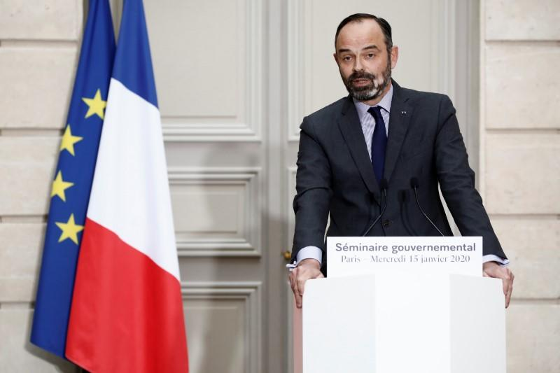 French PM says transport strikes against pension reform will go nowhere