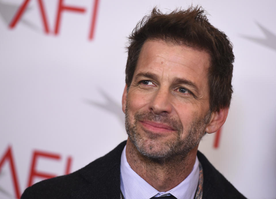 Zack Snyder arrives at the 2018 AFI Awards at the Four Seasons on Friday, Jan. 5, 2018 in Los Angeles. (Photo by Jordan Strauss/Invision/AP)
