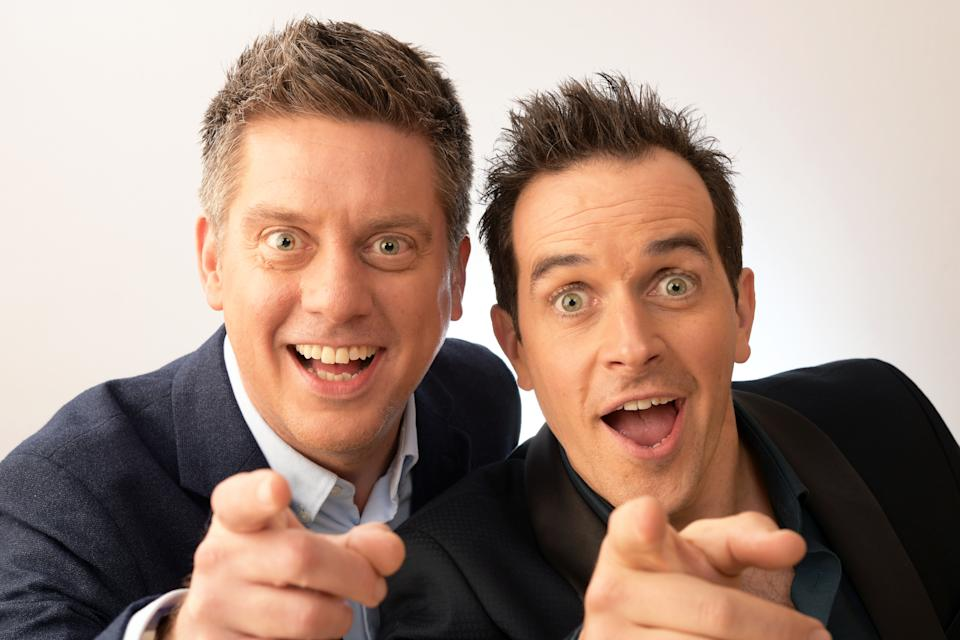 Dick and Dom were fixtures of children's television during the 2000s. (Dave J Hogan/Getty Images)