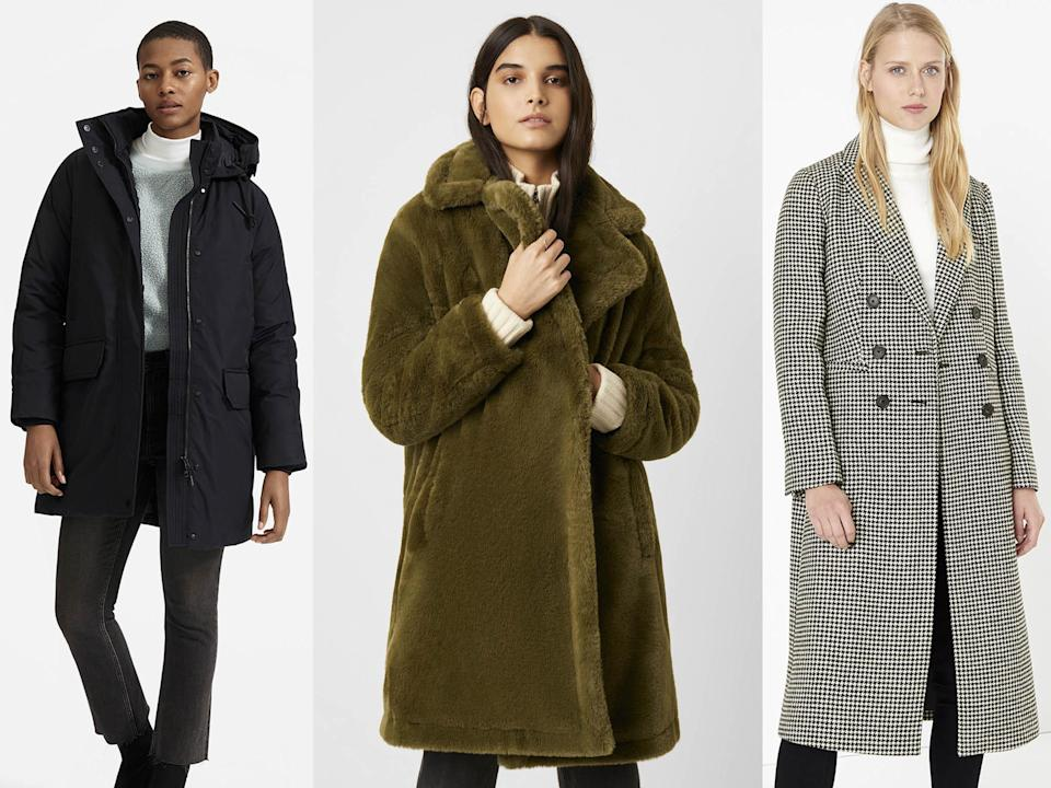 From classic dogtooth to puffers and faux fur, we've tested them all