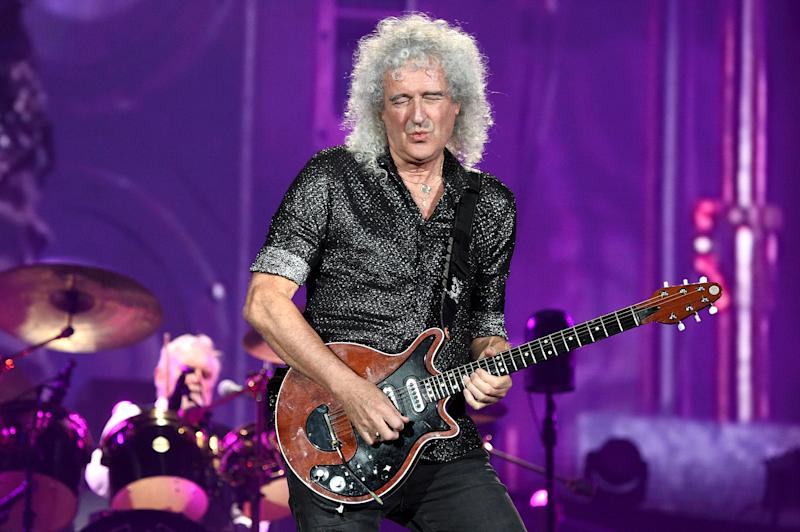 NEW YORK, NEW YORK - SEPTEMBER 28: Roger Taylor and Brian May of Queen perform onstage during the 2019 Global Citizen Festival: Power The Movement in Central Park on September 28, 2019 in New York City. (Photo by Kevin Mazur/Getty Images for Global Citizen)