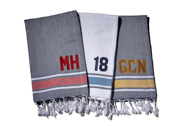 "<p>For a unique and elegant addition to the bag, these customizable Turkish cotton golf towels have a terry-cloth liner that will keep your clubs fresh. <a href=""https://www.crabandcleek.com/"" rel=""nofollow noopener"" target=""_blank"" data-ylk=""slk:Available at crabandcleek.com  BUY NOW: $32"" class=""link rapid-noclick-resp""><em>Available at crabandcleek.com</em><br> <strong>BUY NOW:</strong> $32</a></p> <p><a href=""https://select.golfdigest.com/shop/flagstick-golf-pouch"" rel=""nofollow noopener"" target=""_blank"" data-ylk=""slk:For more Crab & Cleek gift ideas, check out the Golf Digest SELECT Flagstick Golf Pouches, here."" class=""link rapid-noclick-resp"">For more Crab & Cleek gift ideas, check out the Golf Digest SELECT Flagstick Golf Pouches, <strong>here.</strong></a></p>"