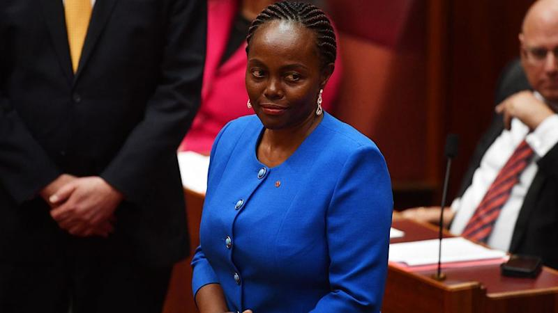 Ms Gichuhi took the seat of Family First senator Bob Day following a vote recount after he was ruled ineligible to stand for election. Photo: AAP