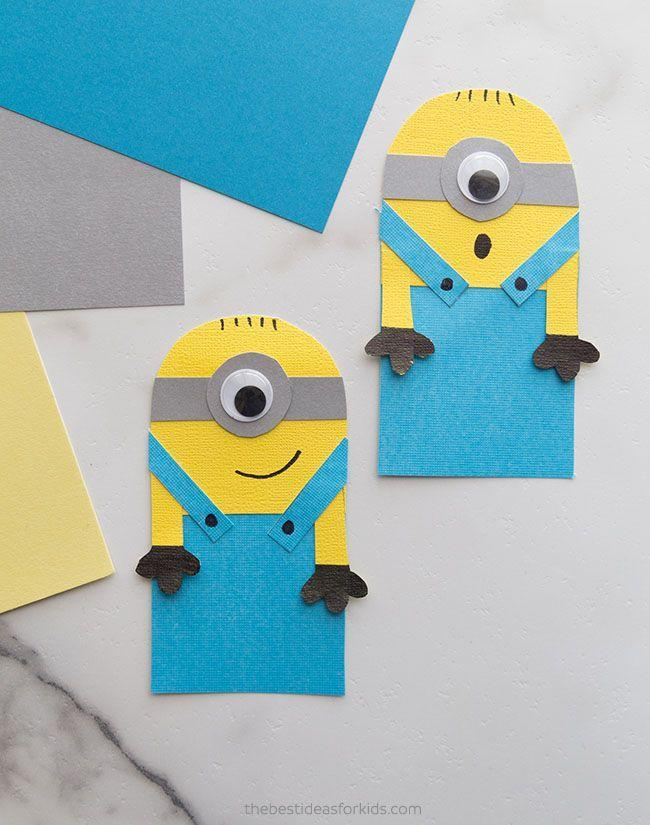 """<p>With these guys holding your place, the assigned reading seems like a pleasure to do. The arms hug the pages.</p><p><a href=""""https://www.thebestideasforkids.com/minion-bookmark/"""" rel=""""nofollow noopener"""" target=""""_blank"""" data-ylk=""""slk:Get the tutorial at The Best Ideas for Kids »"""" class=""""link rapid-noclick-resp""""><em>Get the tutorial at The Best Ideas for Kids »</em></a></p>"""