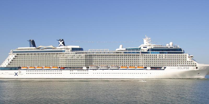 Celebrity Eclipse in 2010
