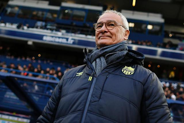 Claudio Ranieri has said he would quit French Ligue 1 side Nantes if he is approached to become Italy coach (AFP Photo/CHARLY TRIBALLEAU)