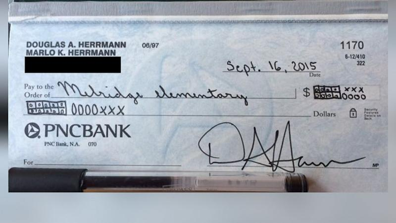 Dad Writes Gag Check to Son's Elementary School Using Common Core Math