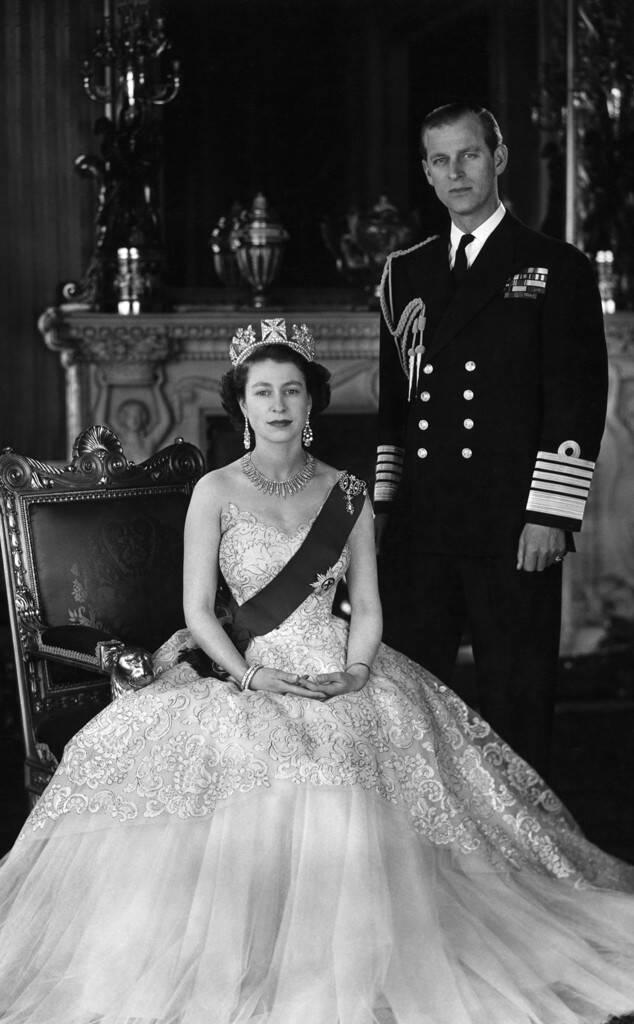 Queen Elizabeth, Prince Philip, 1950's, Widget