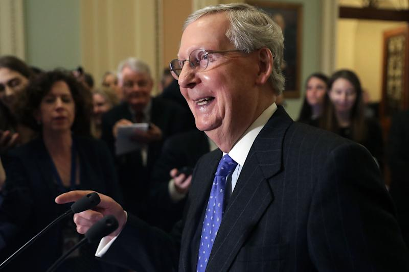 Mitch McConnell Takes First Official Steps Toward Blocking the Neil Gorsuch Filibuster