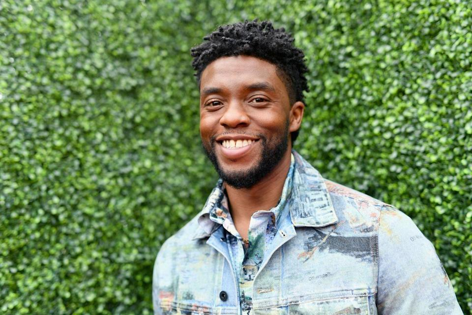"<p>""You think you can't change the world? You can. YOUTH OF AMERICA, WE NEED YOU. This is your chance. Get out there and #VOTE. Our lives depend on it."" - from <a href=""https://www.facebook.com/chadwickboseman/videos/490295761467977"" rel=""nofollow noopener"" target=""_blank"" data-ylk=""slk:his Facebook"" class=""link rapid-noclick-resp"">his Facebook</a></p>"