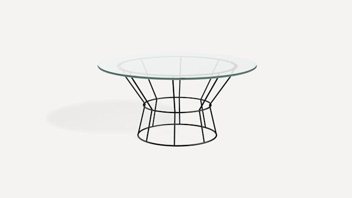 """$495, Burrow. <a href=""""https://burrow.com/tables-and-benches/signal-coffee-table?sku=FLRTB-CT-SG-CLGL-BM"""" rel=""""nofollow noopener"""" target=""""_blank"""" data-ylk=""""slk:Get it now!"""" class=""""link rapid-noclick-resp"""">Get it now!</a>"""