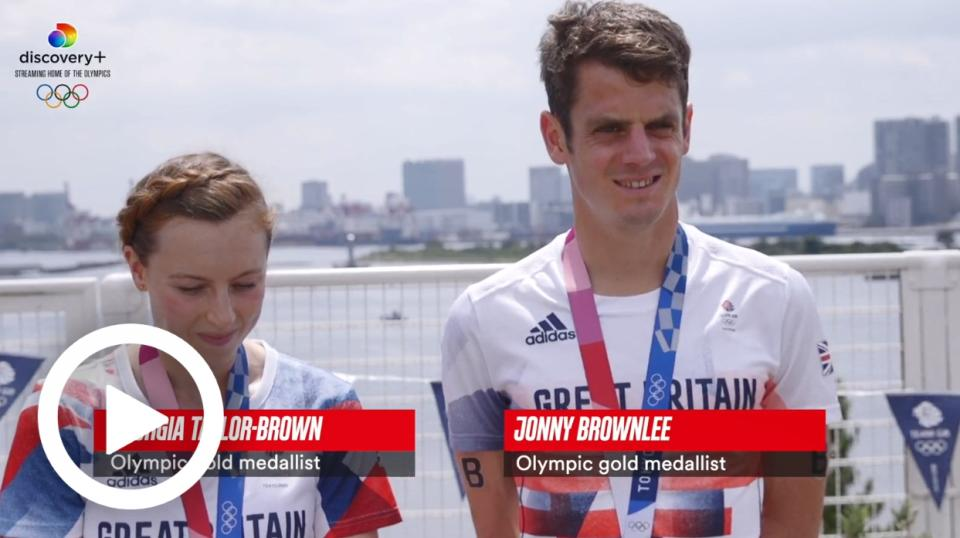 TOKYO 2020 - JONNY BROWNLEE ON 'COMPLETING' THE OLYMPIC GAMES, PLUS GEORGIA TAYLOR-BROWN REACTION