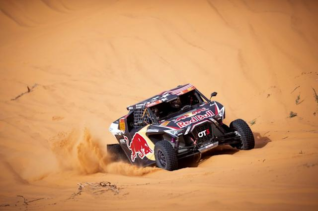 """#409 Red Bull Off-Road Team USA OT3: Blade Hildebrand, Francois Cazalet <span class=""""copyright"""">Red Bull Content Pool</span>"""