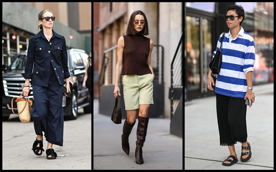 The 5 new season It buys to know, according to the street style set at New York Fashion Week - Daniel Zuchnik / Getty Images North America