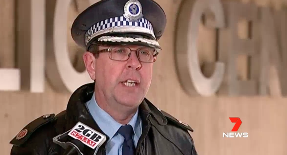 Assistant Commissioner Mark Walton warns people to look out for each other and to make smart decisions. Source: 7 News