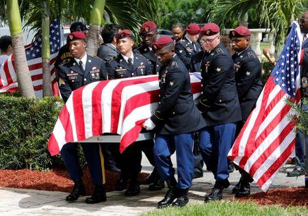 Additional remains of slain USA soldier found in Niger