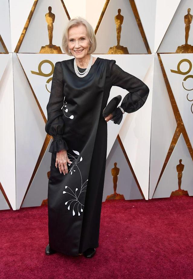 <p>Eva Marie Saint attends the 90th Academy Awards in Hollywood, Calif., March 4, 2018. (Photo: Getty Images) </p>