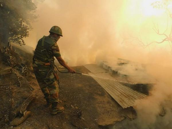 Indian Army doing rescue operation in Kishtwar district of Jammu and Kashmir (Photo/Indian Army)