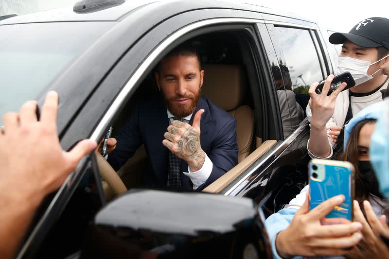 Real Madrid captain Sergio Ramos leaves the club after 16 years