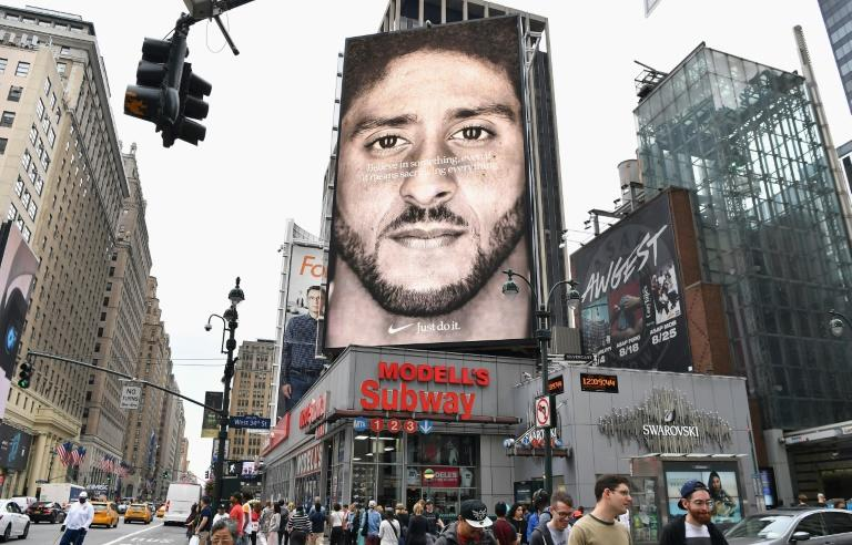 Nike's sales surge after controversial Colin Kaepernick 'Just Do It' campaign