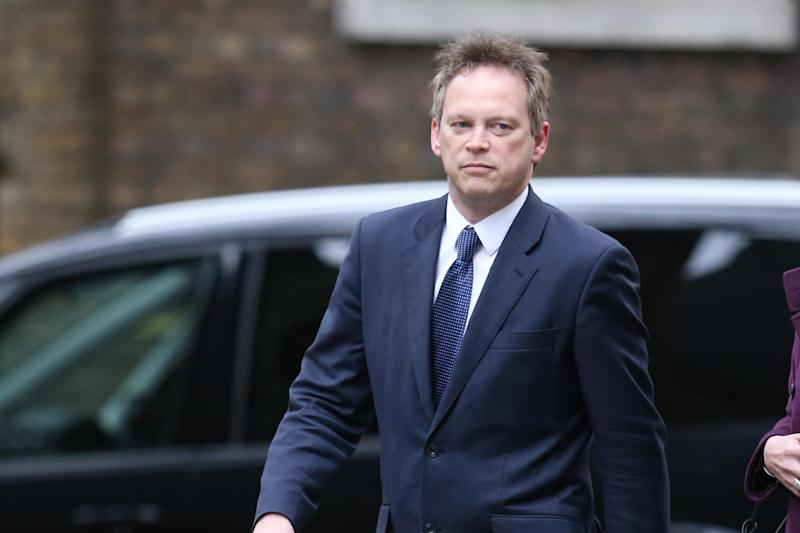 Grant Shapps was described as 'out of touch' over his plot to oust the PM: Getty Images