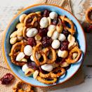 <p>Whip up a big batch of this sweet and salty mix for on-the-go fuel or to have on hand for after-school snacks.</p>