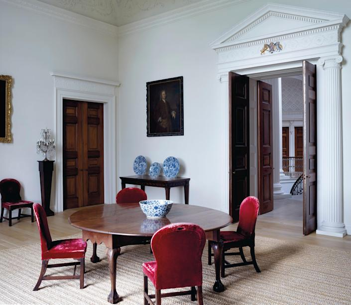 A second view of The Small Dining room.