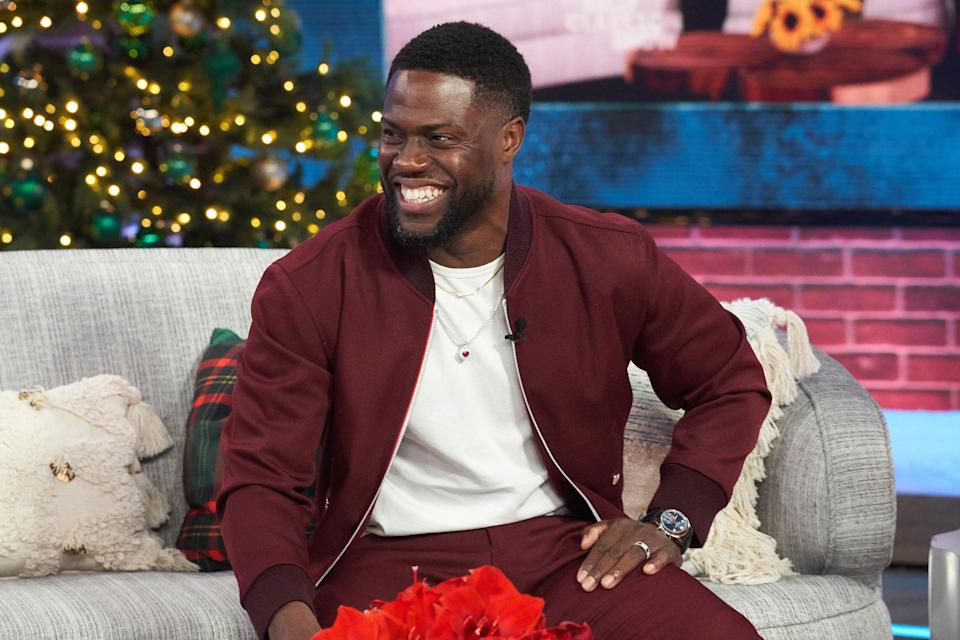 Kevin Hart on the Kelly Clarkson Show