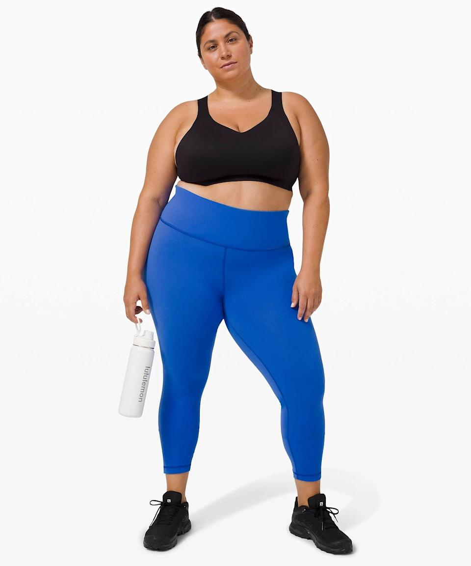 <p>The <span>Lululemon Wunder Train High-Rise Tight</span> ($98) is beloved for a reason. It's the perfect do-it-all legging that's comfortable and easy to move in.</p>