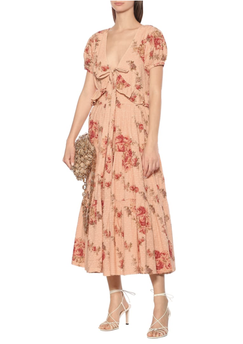 Loveshackfancy Carlton floral dress. (PHOTO: MyTheresa)