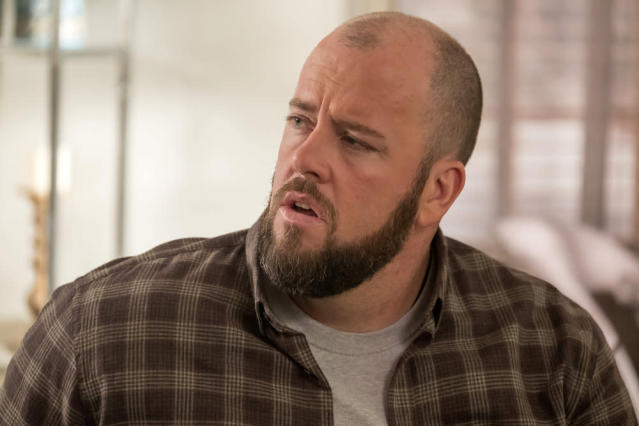 Chris Sullivan as Toby in <em>This Is Us</em> (Photo by: Ron Batzdorff/NBC)