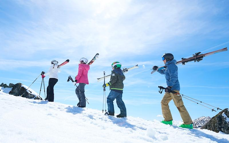 A ski holiday is fun for all the family, whether children are tots, toddlers or teens