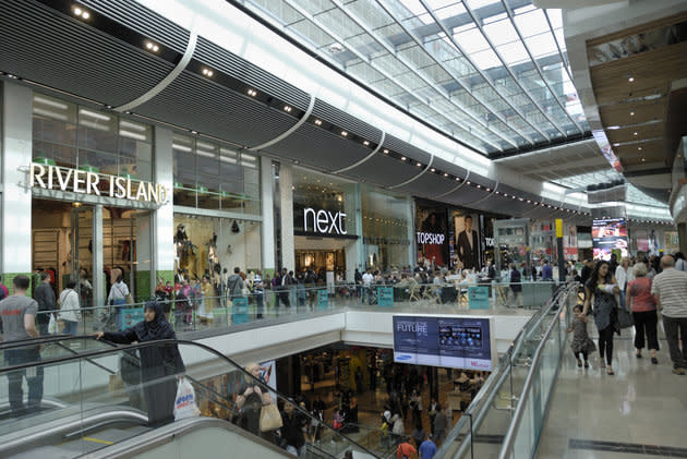 The incident occurred at Westfield Shopping Centre in Stratford (file picture)