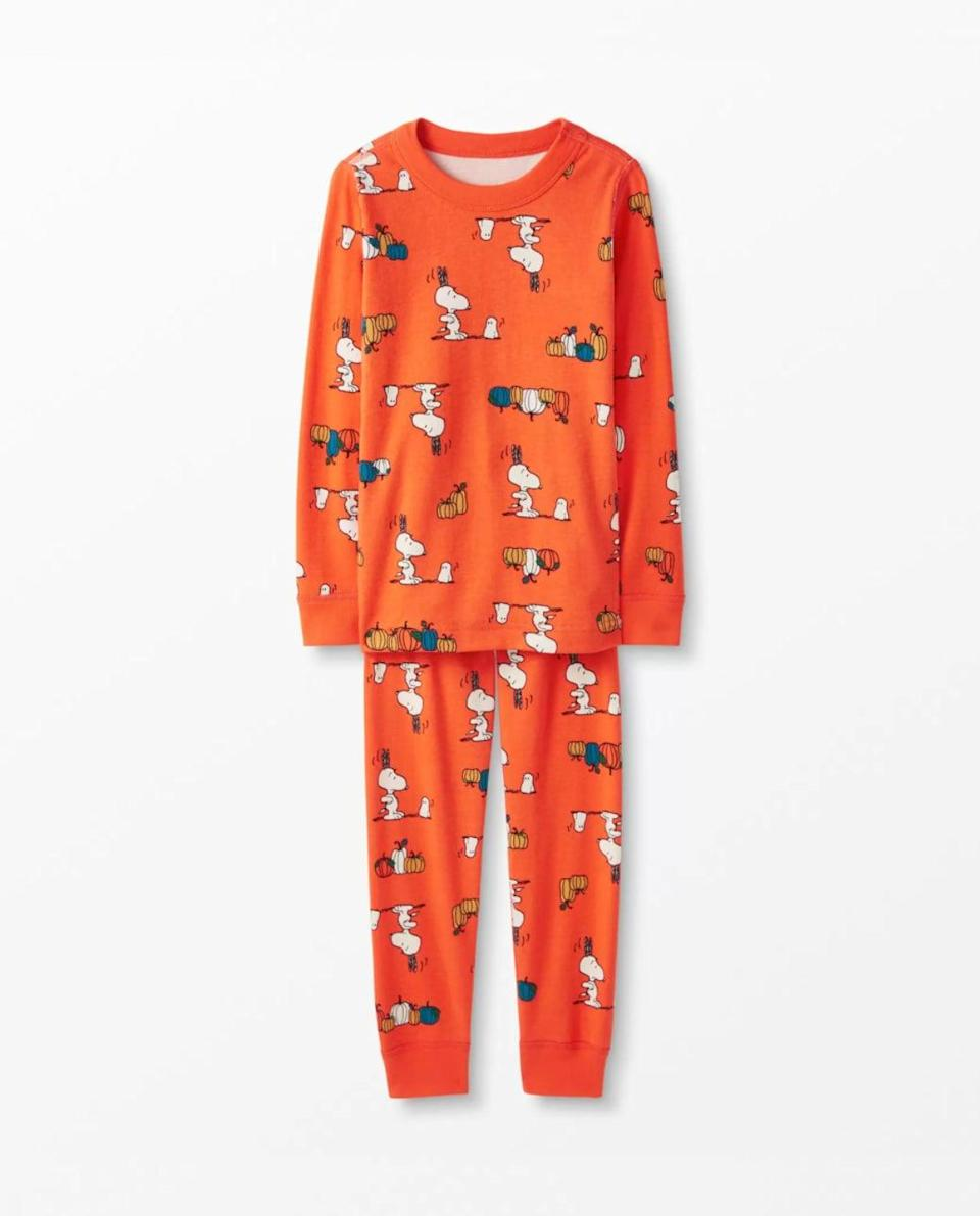 <p>The whole family can match thanks to these <span>Peanuts Long John Pajamas In Organic Cotton</span> ($50). How sweet!</p>