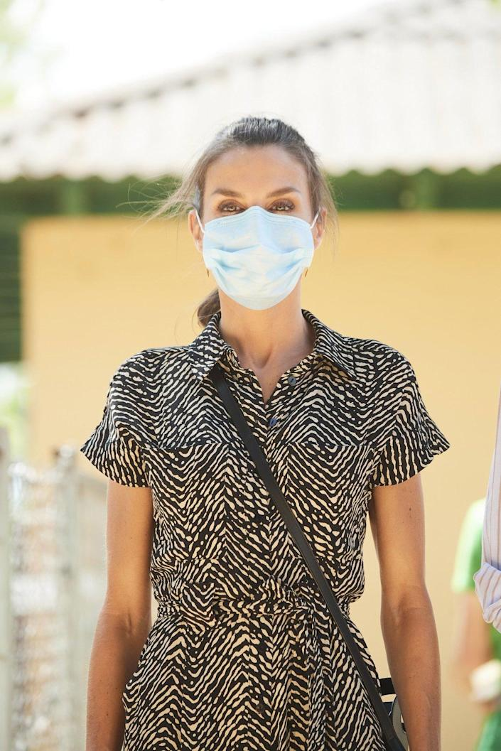 """<div class=""""inline-image__caption""""> <p>Their majesties the King of Spain, King Felipe VI and Queen Letizia continued with their visits to all the autonomous communities after the Covid 19 pandemic, this time in Castilla la Mancha, specifically the city of Cuenca on July 2, 2020.</p> </div> <div class=""""inline-image__credit""""> Shutterstock </div>"""
