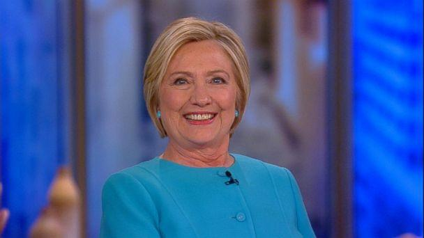 PHOTO: Hillary Clinton appears on 'The View,' Sept. 13, 2017. (ABC)
