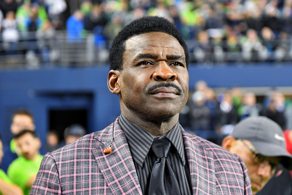 Hall of Fame wide receiver Michael Irvin