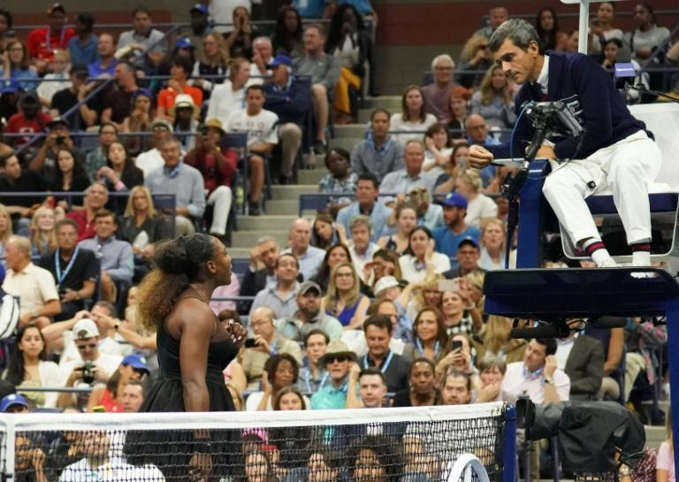 Flashpoint: Serena Williams argues with chair umpire Carlos Ramos
